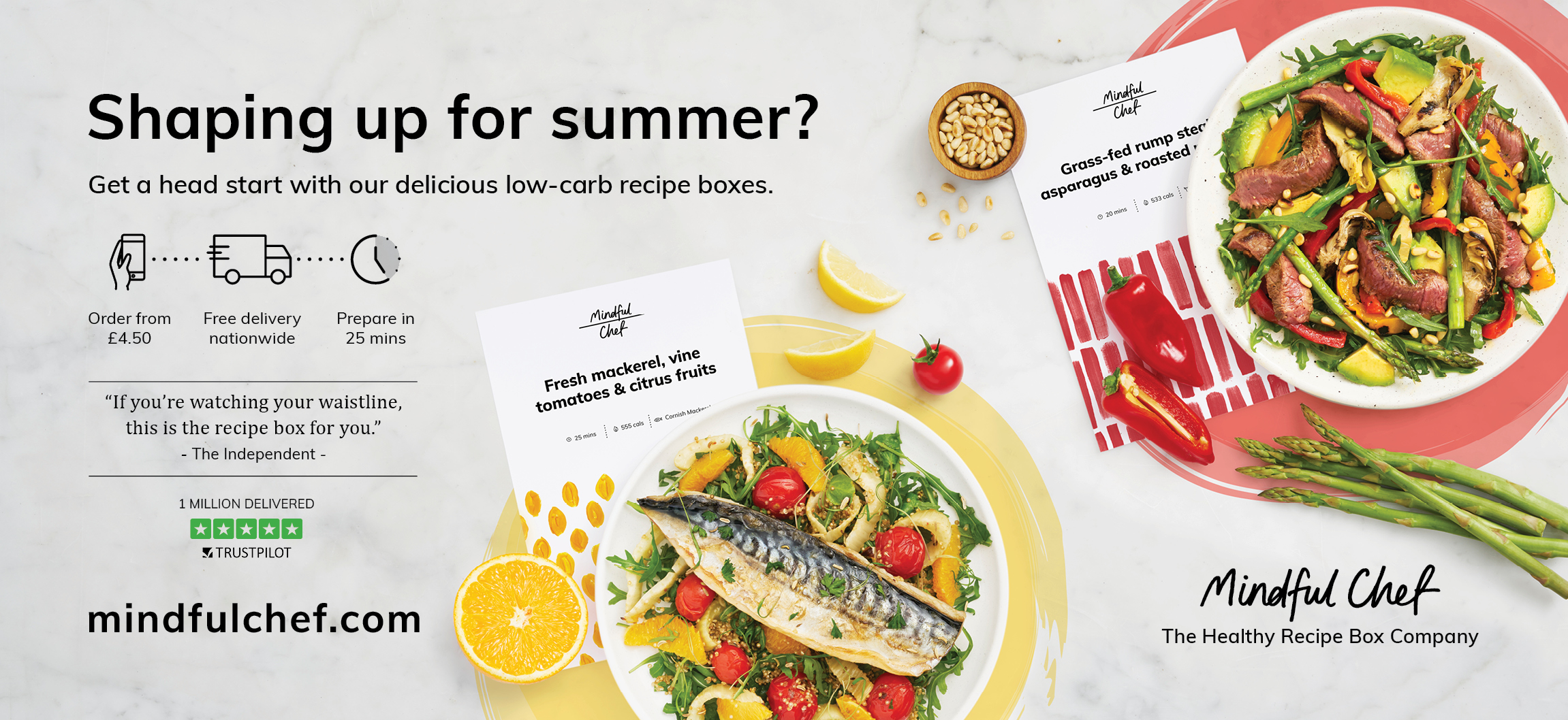 Creating a new premium brand in the dynamic UK recipe box market